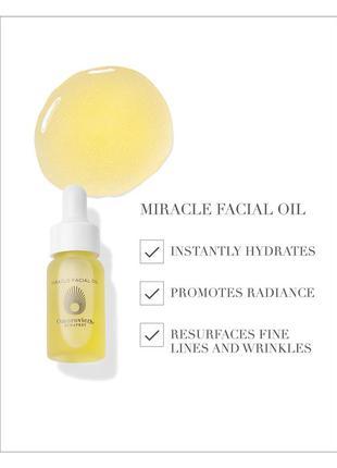 Люксовое масло для лица omorovicza miracle facial oil 5 мл