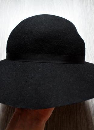 Шляпа шерсть  на объем головы 56 см.