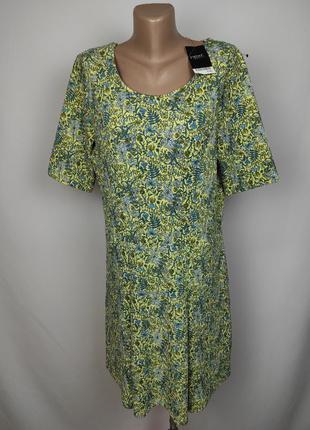 Платье новое плотное трикотажное в принт большого размера next uk 18/46/xxl