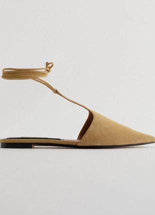 Новые туфли-мюли zara