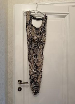 Платье (змеиный принт)