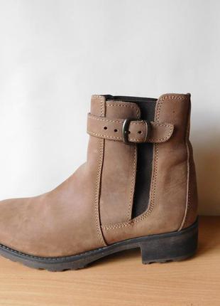 Суперовые кожаные ботинки, челси next 39 р. по стельке 25 см