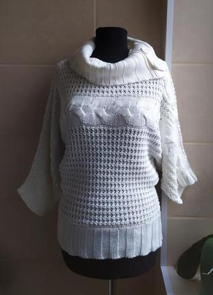 Теплая кофта / свитер sakura с хомутом