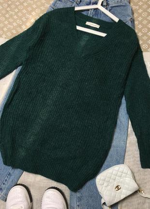 Удлинённый джемпер,свитер