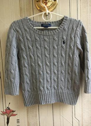 Джемпер свитер «косички»  оригинал