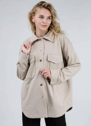 Тёплая куртка-рубашка