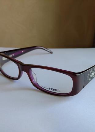 Супер цена!!! последняя оправа! фирменная оправа под линзы,очки оригинал g.ferre gf34904
