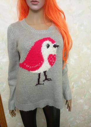 Милый новогодний свитер