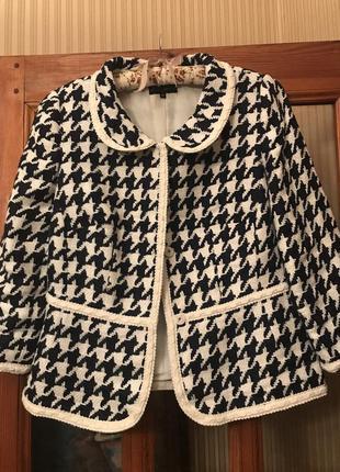 Итальянский пиджак luisa spagnoli 46
