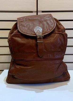 Кожаный рюкзак serge agostini