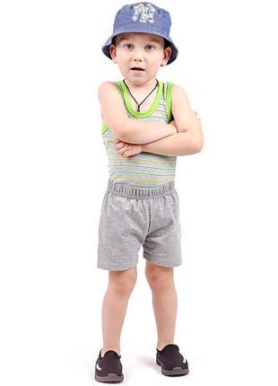 Шорти шортики шорты котонові трикотажні в садик садочок для танцев мальчика хлопчика чорні