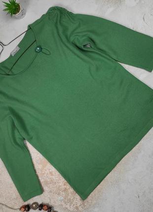 Свитер джемпер пуловер изысканный шерстяной marks&spencer uk 16/44/xl