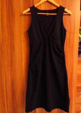 Маленькое черное платье для беременных. размер м.
