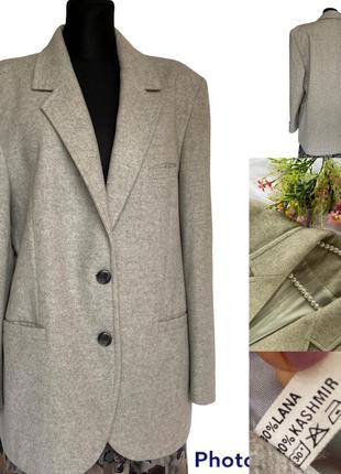 Фирменный стильный качественный натуральный пиджак