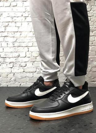 ❄️ зимние мужские кроссовки на меху nike air force 1 low