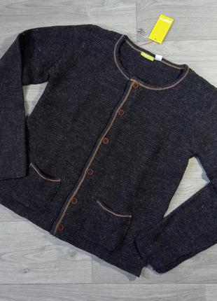 Теплый свитер джемпер реглан кардиган на пуговицах pepperts 158-164