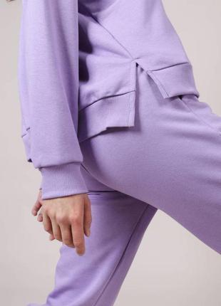 Костюм лиловый\теплый костюм