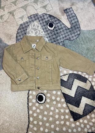 Пиджак, рубашка вельветовая