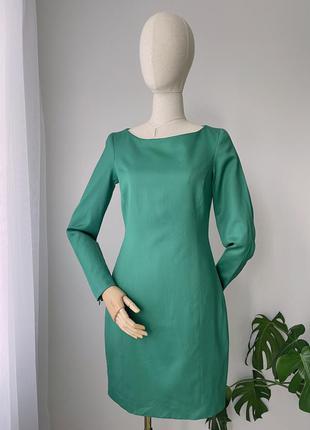 Сукня vanila elements шерстяна зелена