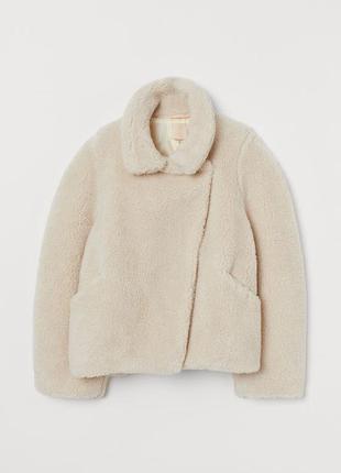 Жакет/шуба/пальто из искусственного меха h&m