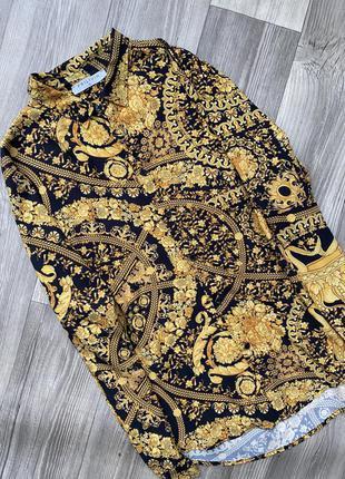 Рубашка в стиле барокко