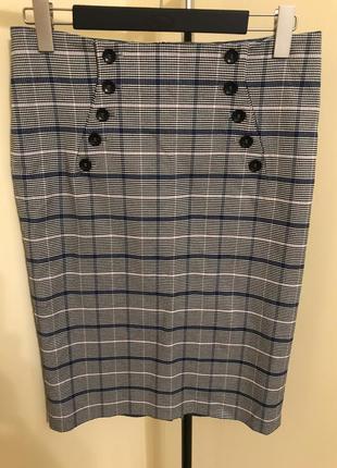 Очень красивая юбка карандаш на подкладке