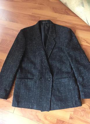 Шерстяной пиджак overseas р 48-50