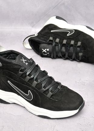 Nike air gore-tex  кожаные кроссовки на осень