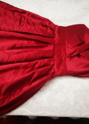 Просто бомбическое вечернее, выпускное, свадебное платья красно-малинового цвета, от фирмы oodji