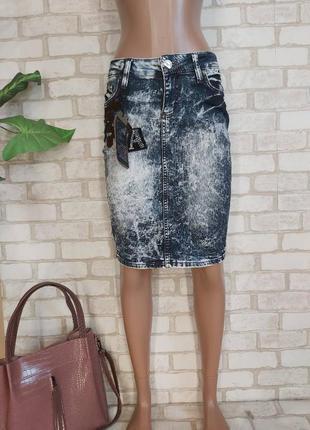 """Новая с биркой шикарная юбка- миди карандаш в стиле """"варёнка"""", размер с-м"""