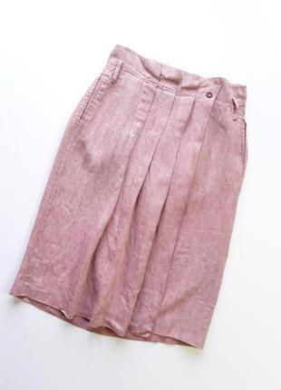 Стильная льняная юбка от max&co,молодежной линейки max mara