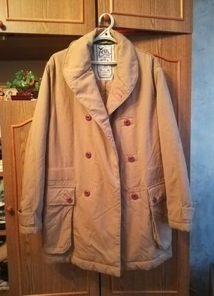 Супер куртка из натур. материалов.