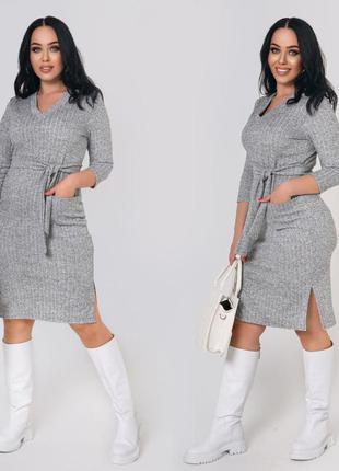 Платье plus size