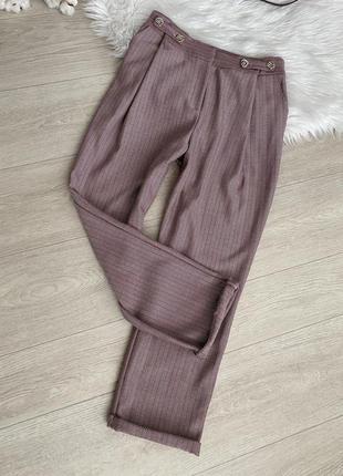 Актуальные плотные брюки от topshop