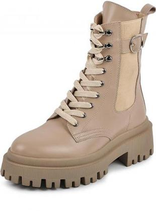 Ботинки кожа люкс