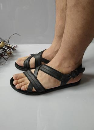 Кожаные сандалии am