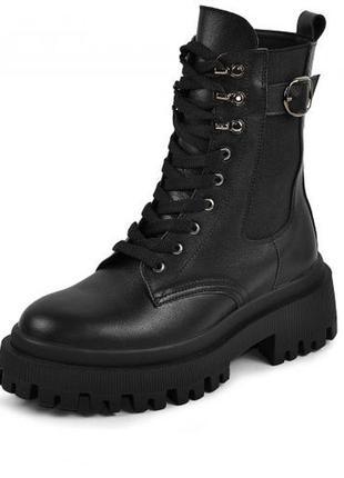 Шкіряні черевики люкс якість