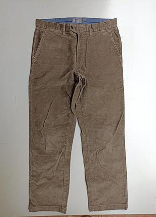 Фирменные вельветы брюки штаны 34р.