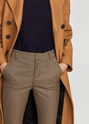 Тёплые шерстяные брюки в клетку river island