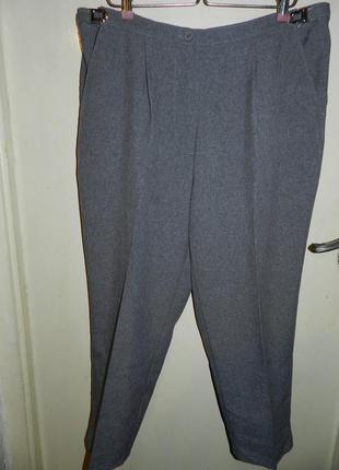 Элегантные,укороченные брюки,большого размера