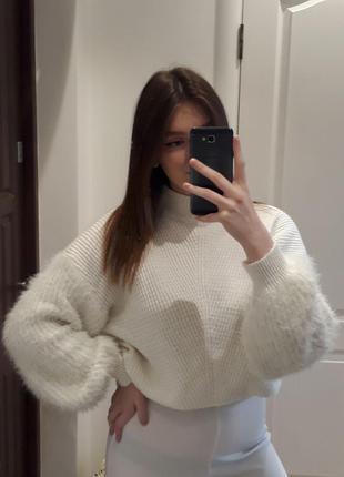 Пушистый свитер primark
