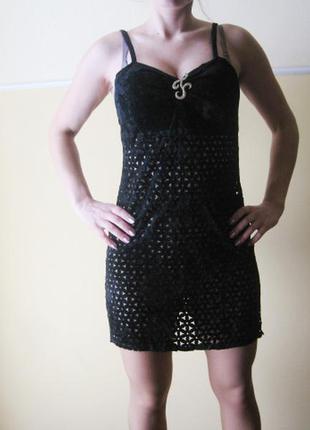 Платье в дырку