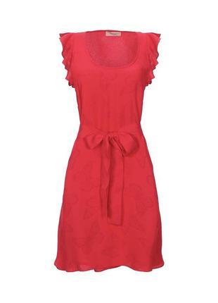 Платье twin set красное платье размер m/l