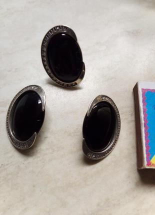 Серебряные серьги и кольцо. торг уместен!