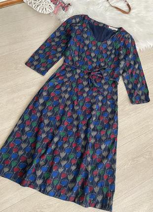 Очень красивое платье с карманами