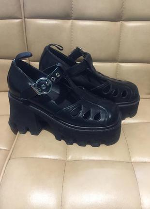 Туфли босоножки lamoda на платформе