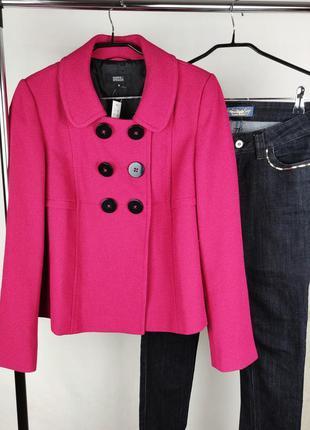 Стильное красивое пальто жакет marks & spencer этикетка