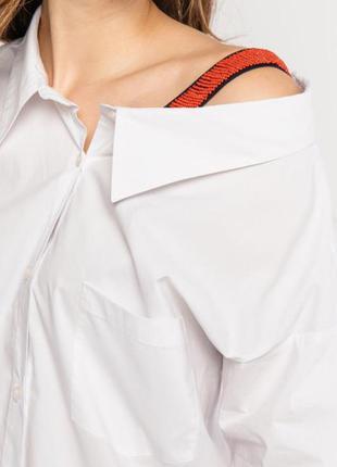Оригинальная блузка рубашка на одно плечо