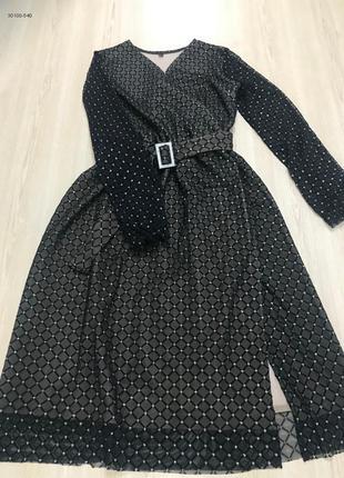 Сукня з блискітками