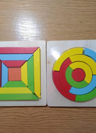Геометрическая головоломка. пазл